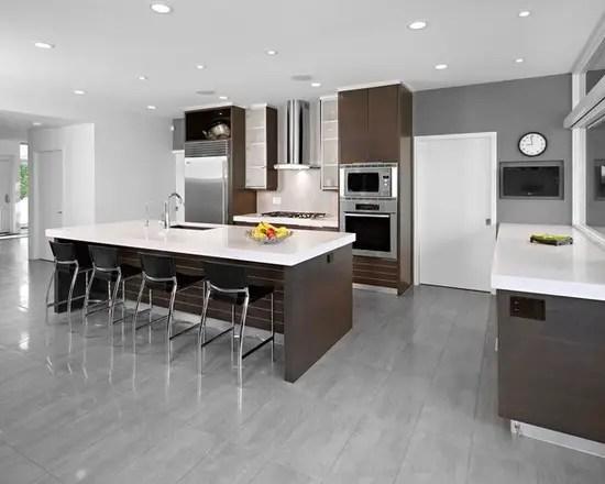 kitchen floor farmhouse sink 15 stunning grey design ideas style motivation