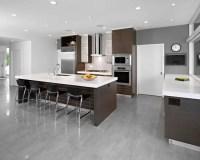 15 Stunning Grey Kitchen Floor Design Ideas - Style Motivation