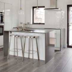 Wood Flooring For Kitchen American Standard Sinks 15 Stunning Grey Floor Design Ideas Style Motivation