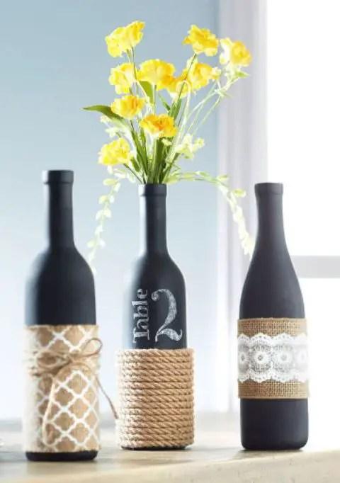DIY Ideas: 15 Creative Ways to Repurpose Empty Wine Bottles