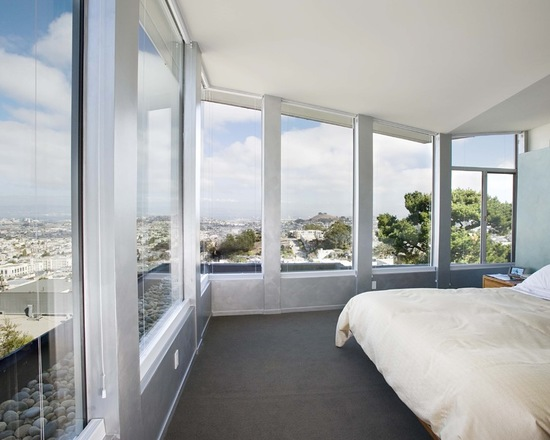 20 Bedroom Design Ideas with Floor to Ceiling Windows
