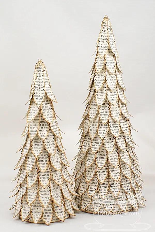 15 Cute and Creative DIY Mini Christmas Tree Decor Ideas