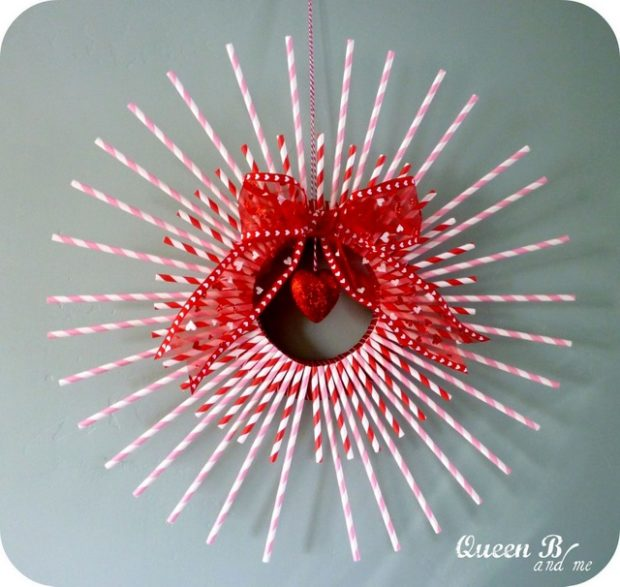 Feel The Love 17 DIY Valentine's Wreaths