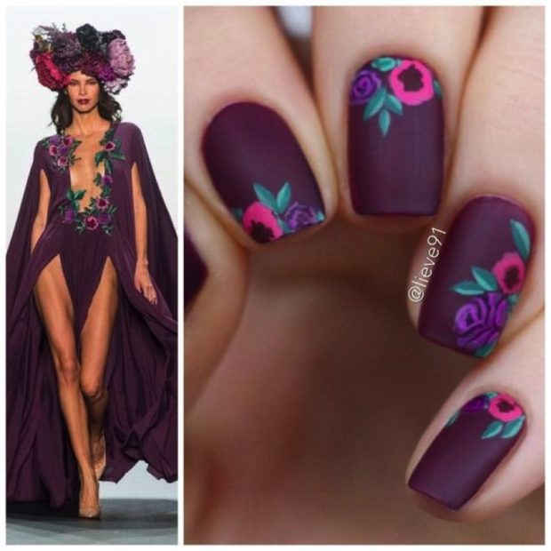 Trendy Purple Nail Ideas