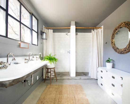 18 Luxury Farmhouse Bathroom Design Ideas