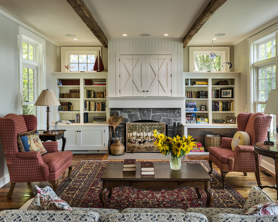 22 Amazing Ideas for How To Style A Farmhouse Living Room