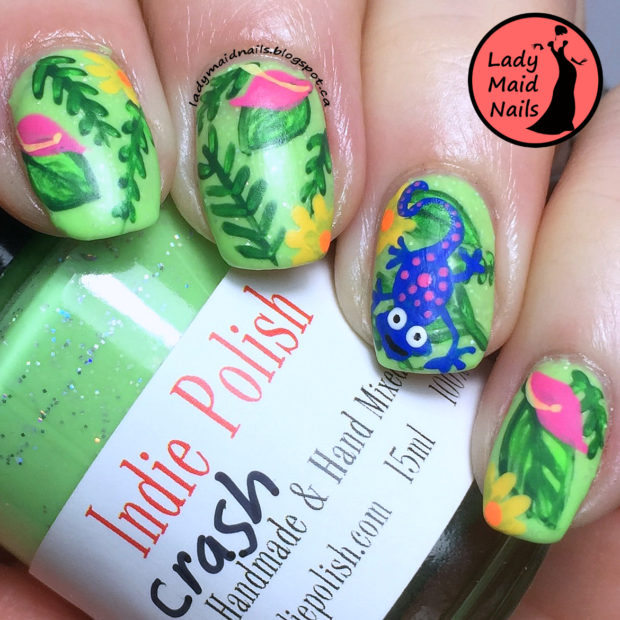 Print On Your Nails:15 Creative Nail Art Ideas
