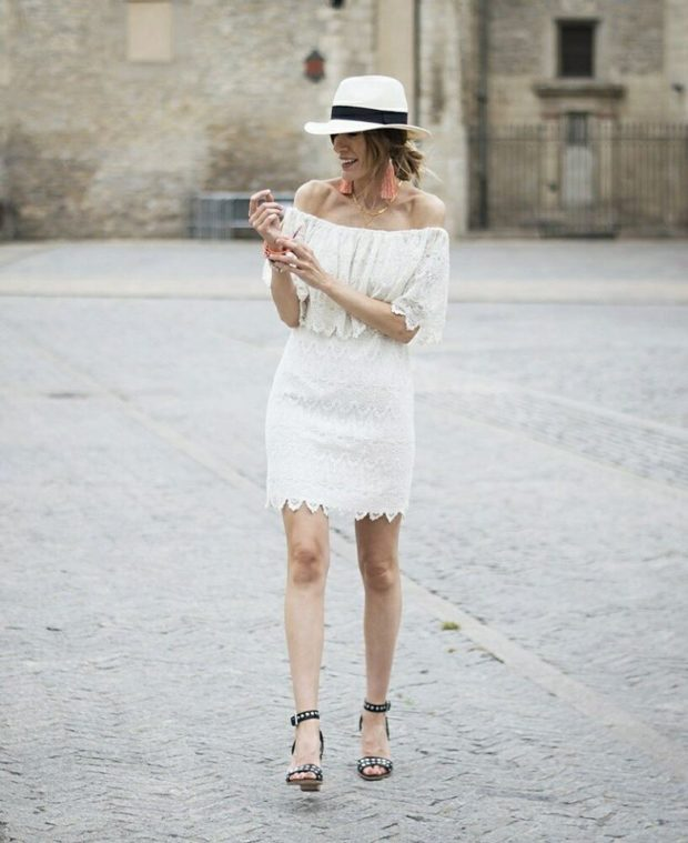 20 Super Chic All White Outfits To Copy This Summer