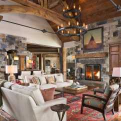 Lake House Living Room Photos Corner Sofa Design For Small 17 Stunning Rustic Interior Designs Your ...