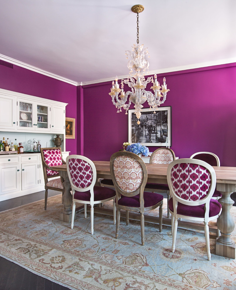 17 Outstanding Eclectic Dining Room Designs Youll Love