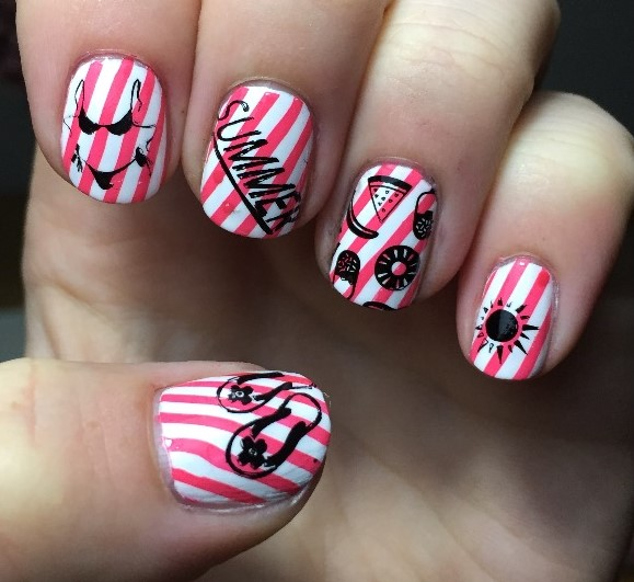14 Amazing Nail Art Ideas Perfect for The End of Summer
