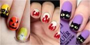 creative spooky halloween nail