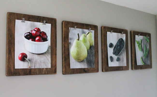 20 Diy Picture Frame Ideas For Personalized Home Decor