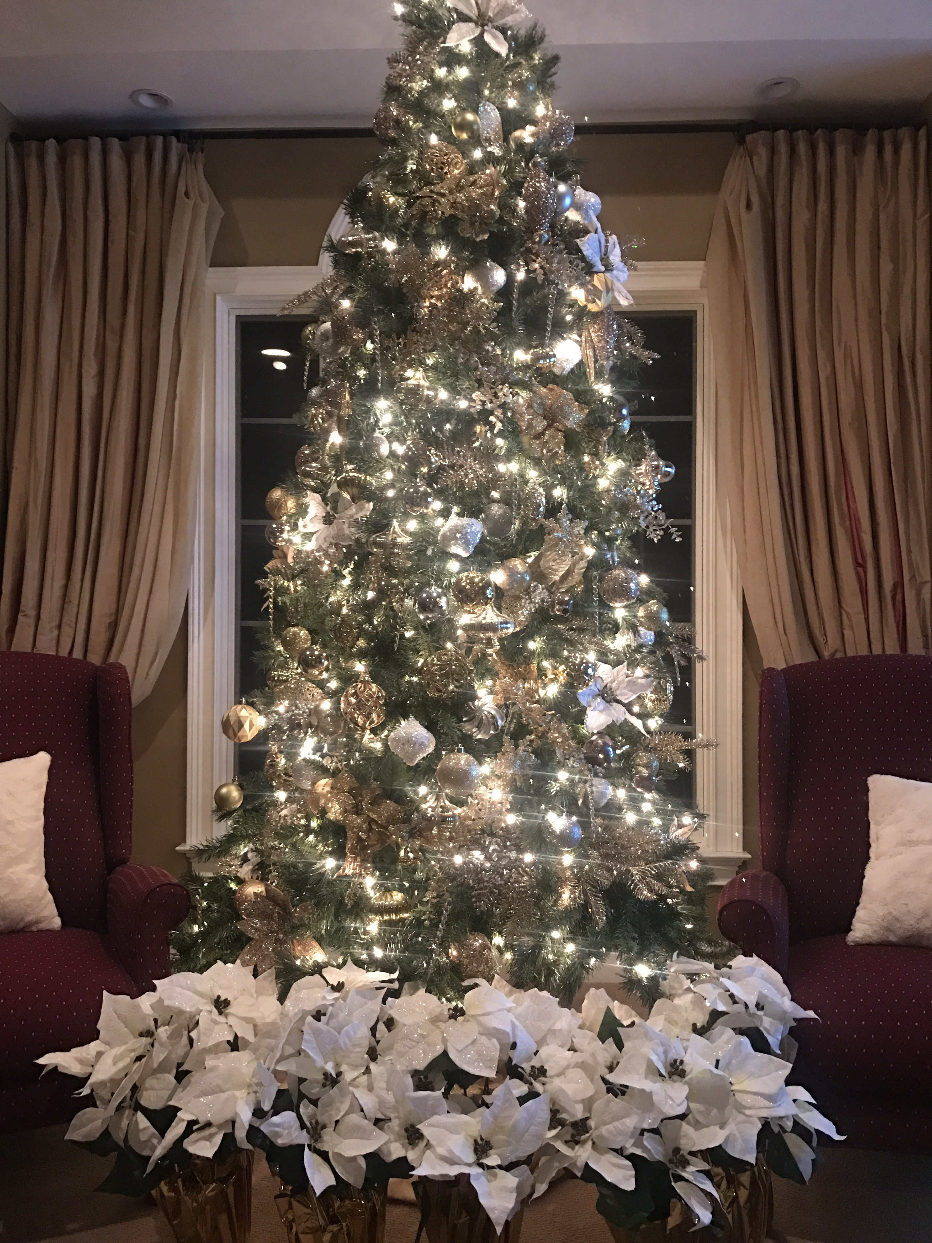 Silver Artificial Christmas Trees