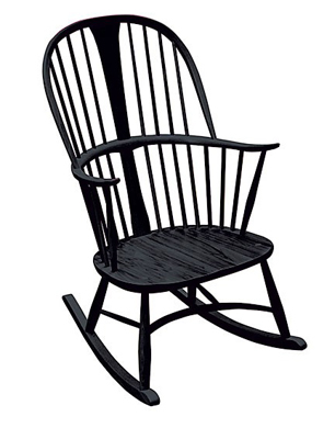 black rocking chair fabric swivel and footstool kettal landscape outdoor the best chairs stylenest