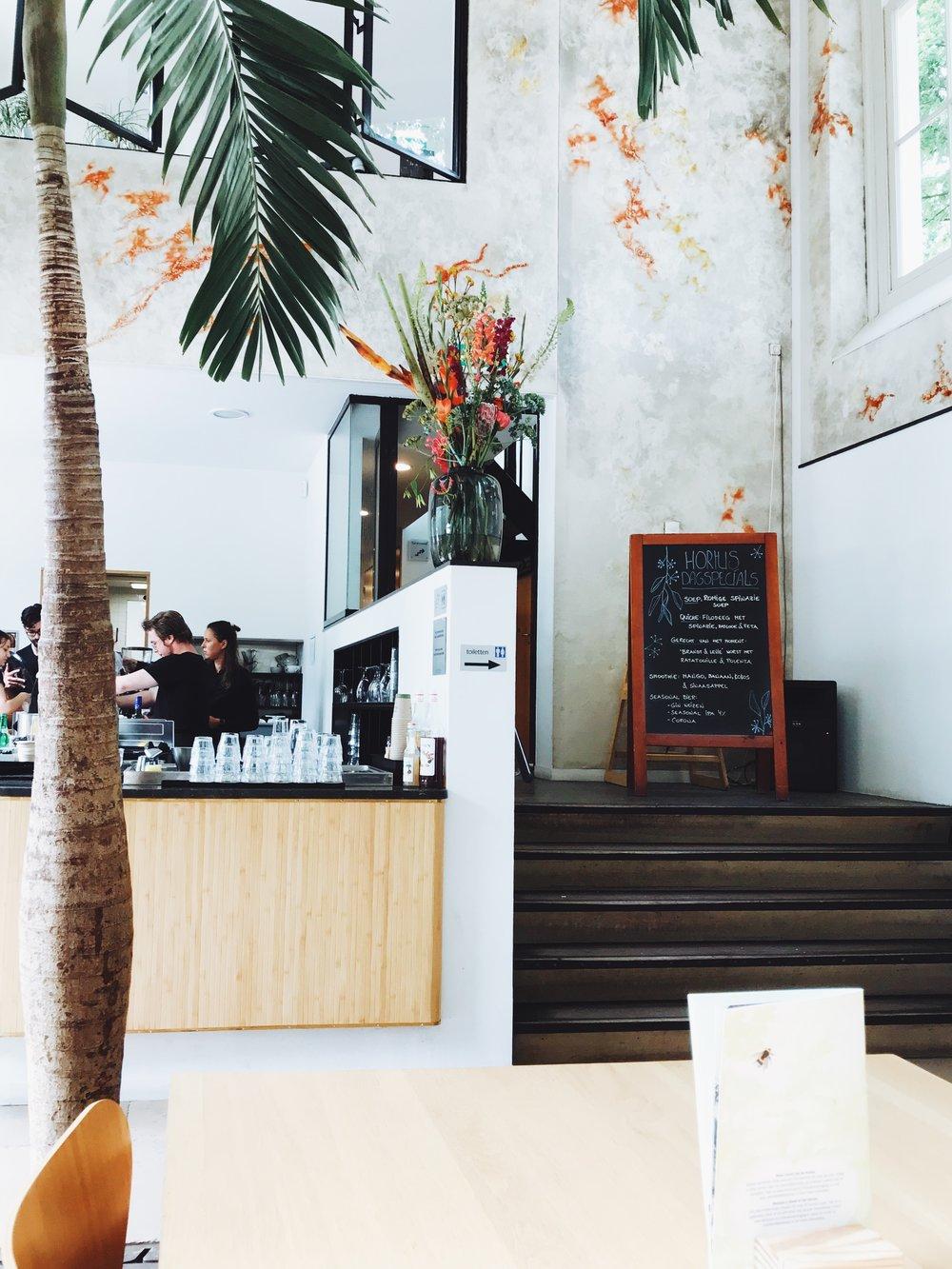 Hortus Amsterdam restaurant