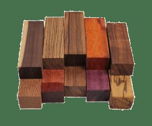 Exemple de carrelet de bois
