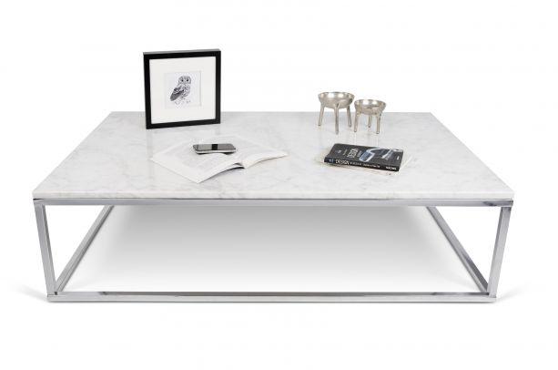 prairie white marble coffee table 120cm