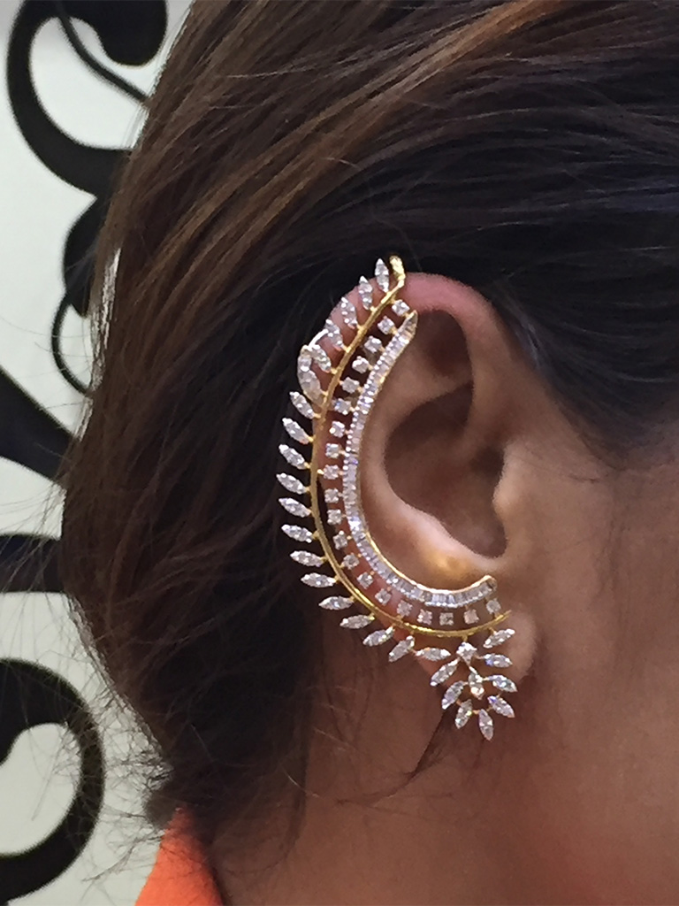 Diamond Ear Cuffing it all the way. PC- Style Prer