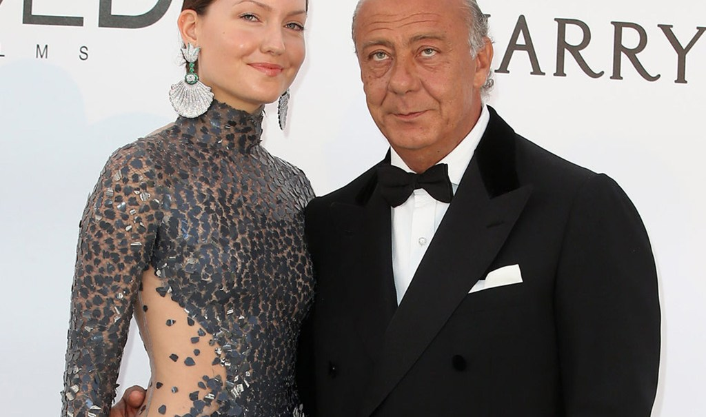 Fawaz Gruosi and his unique high jewellery pieces on the AmfAR's red carpet. www.degrisogono.com