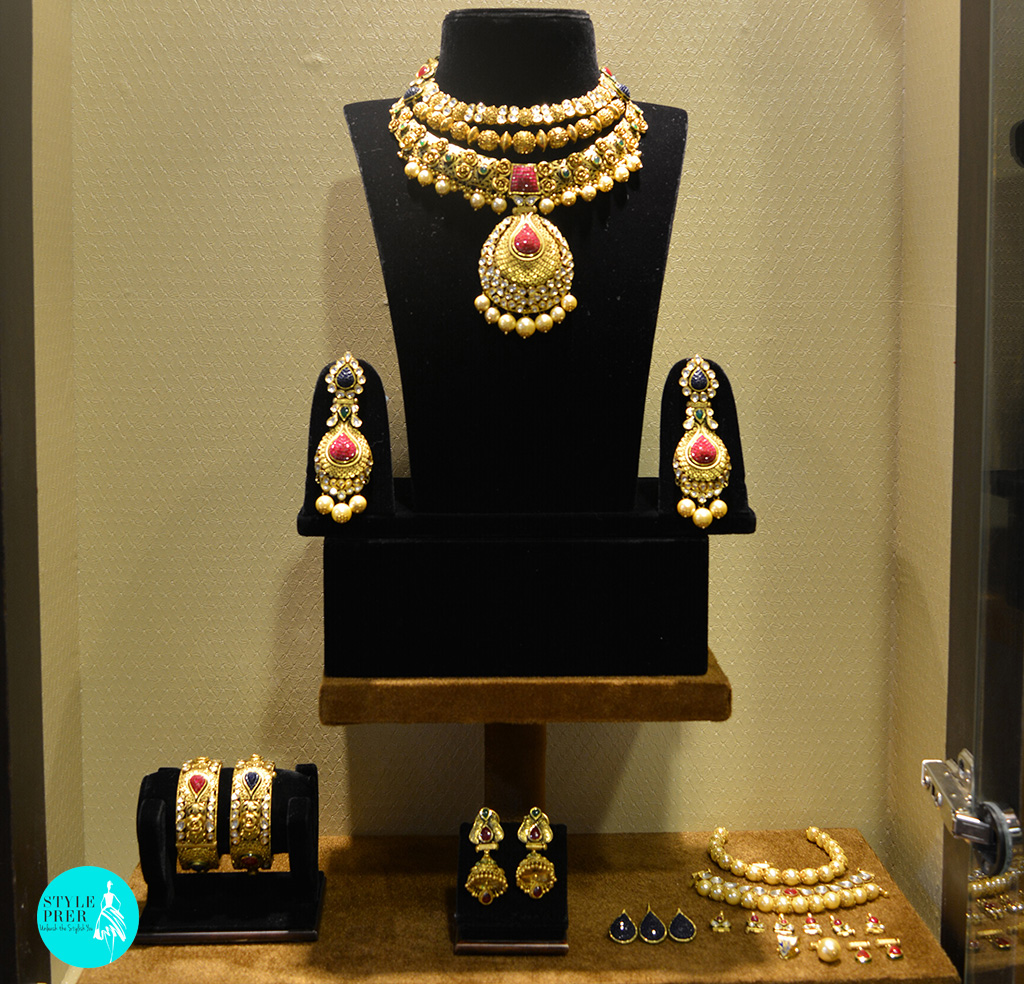18 Interchangeable Ways Of Wearing A Kundan & Gemstone Necklace Set- Chheda Jewellers