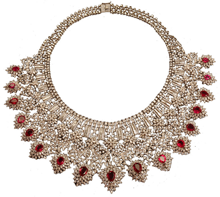 Bridal Diamond Necklace From The Timeless. PC- StylePrer
