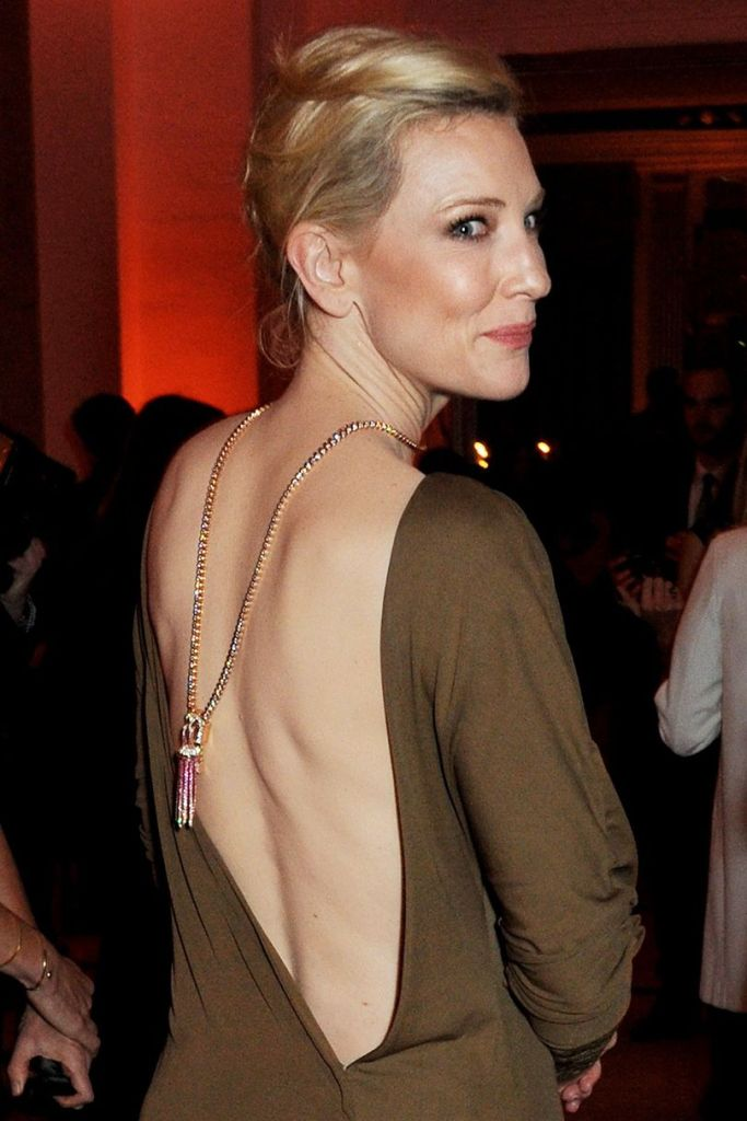 Cate Blanchett in Van Cleef & Arpel in 2013