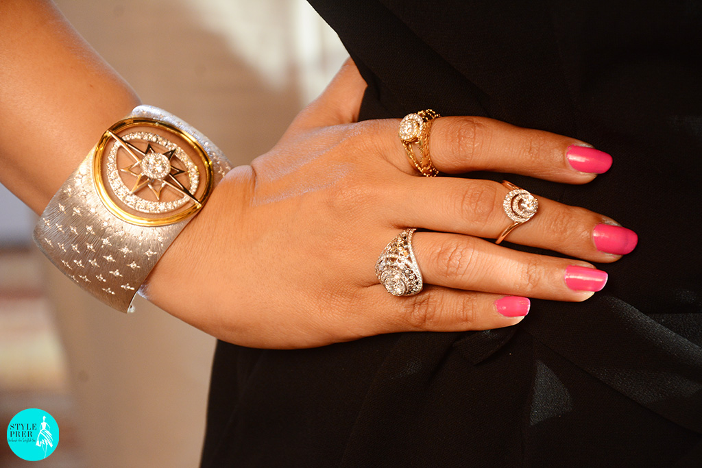 Wearing The Artemis Collection By Bibhu Mohapatra And Forevermark India