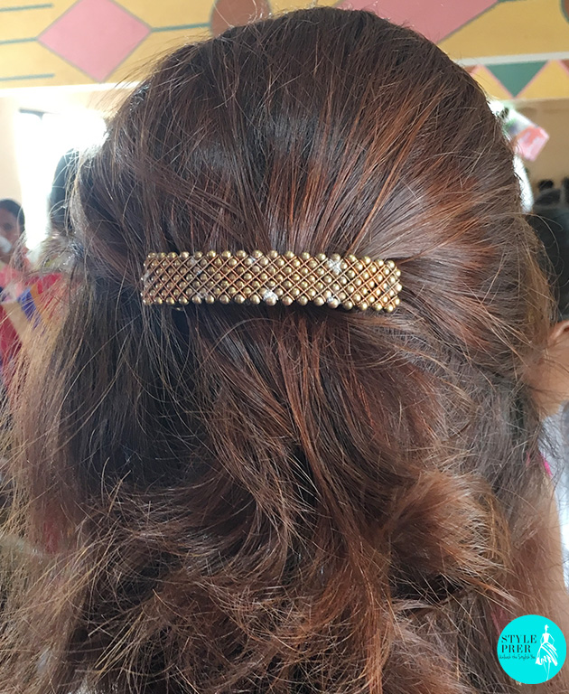 Frizzy Hair! Who Cares! Its All About The Handmade Jewelry Clip Made By The Tribal Women Living In Vikramgad