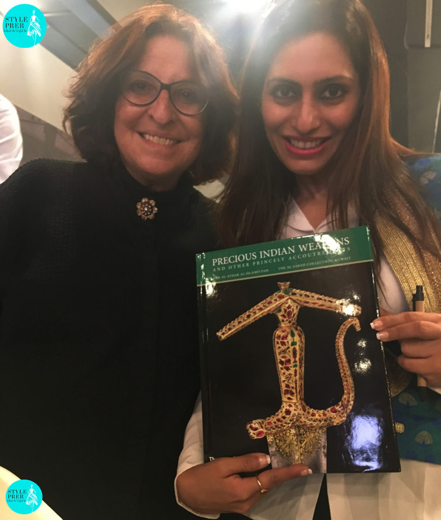 """Prernaa Makhariaa In Conversation With Salam Kaoukji As I Speak To Her About Her Book """"Precious Indian Weapons"""""""