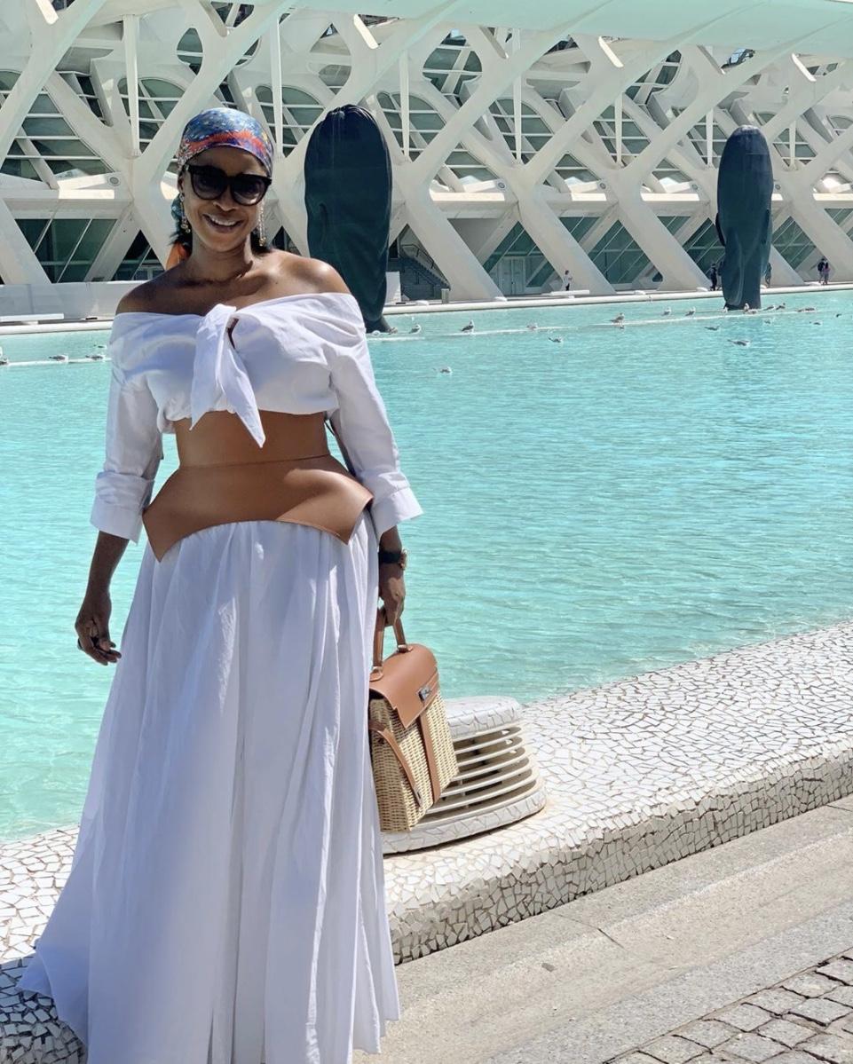 Folake Akindele Coker the obi belt stylerave