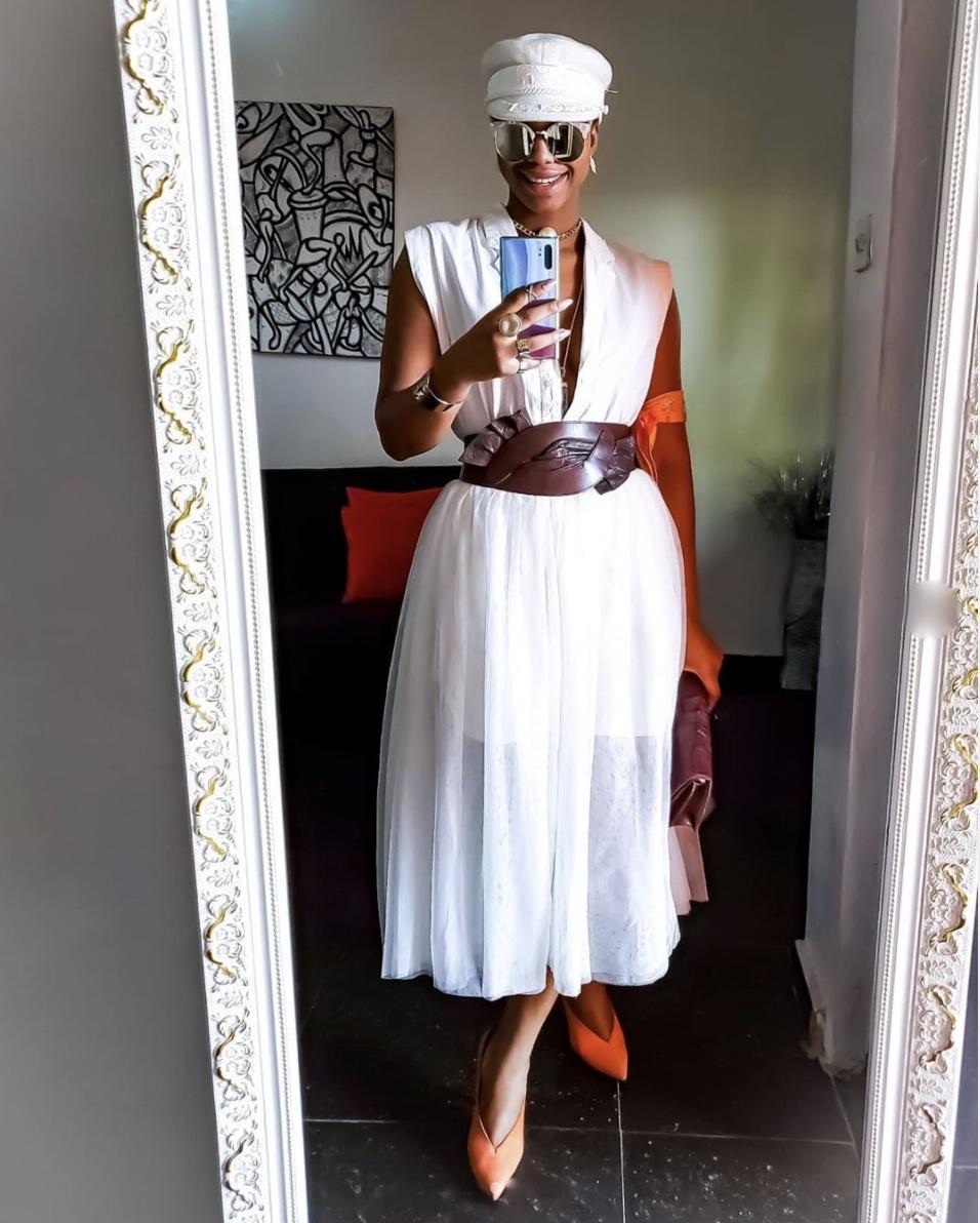 maxi dress with obi belt stylerave