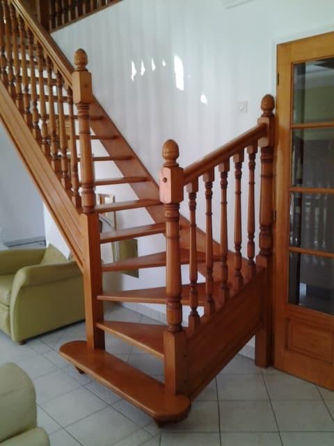 Le remplacement d'escalier : AVANT