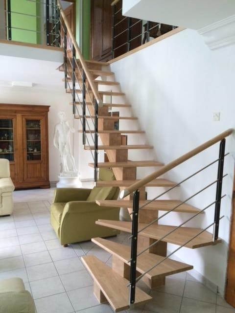 Le remplacement d'escalier : APRES