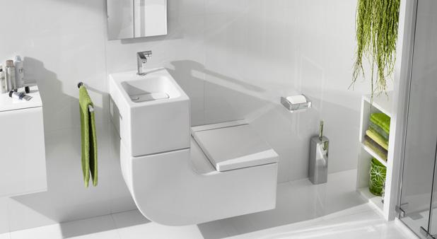 5 W C Lave Mains Pour Gagner De La Place Aux Toilettes