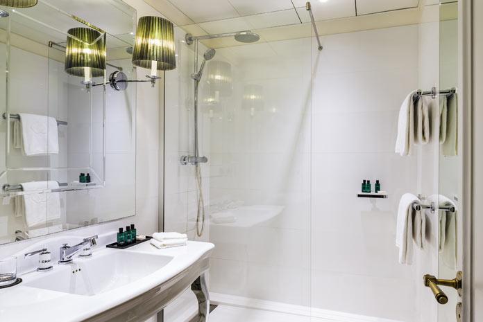 salle de bains comme