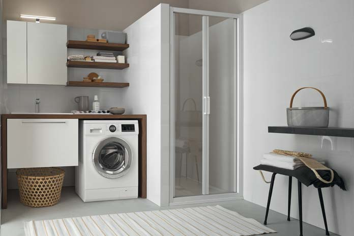 des meubles de salle de bains adaptes a