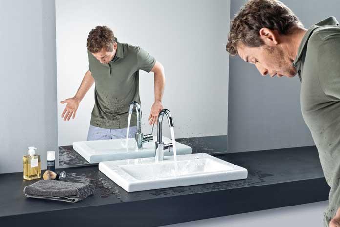 on change un robinet de lavabo