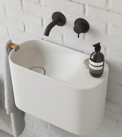 6 lave mains pour des toilettes
