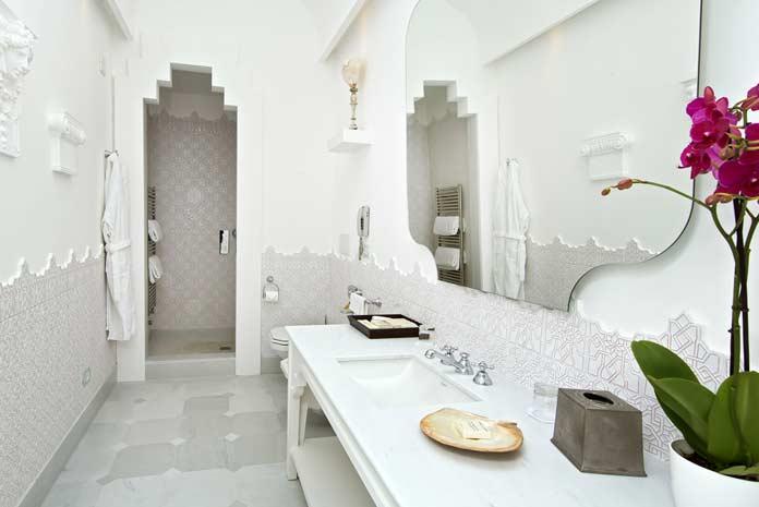 salle de bains de style marocain