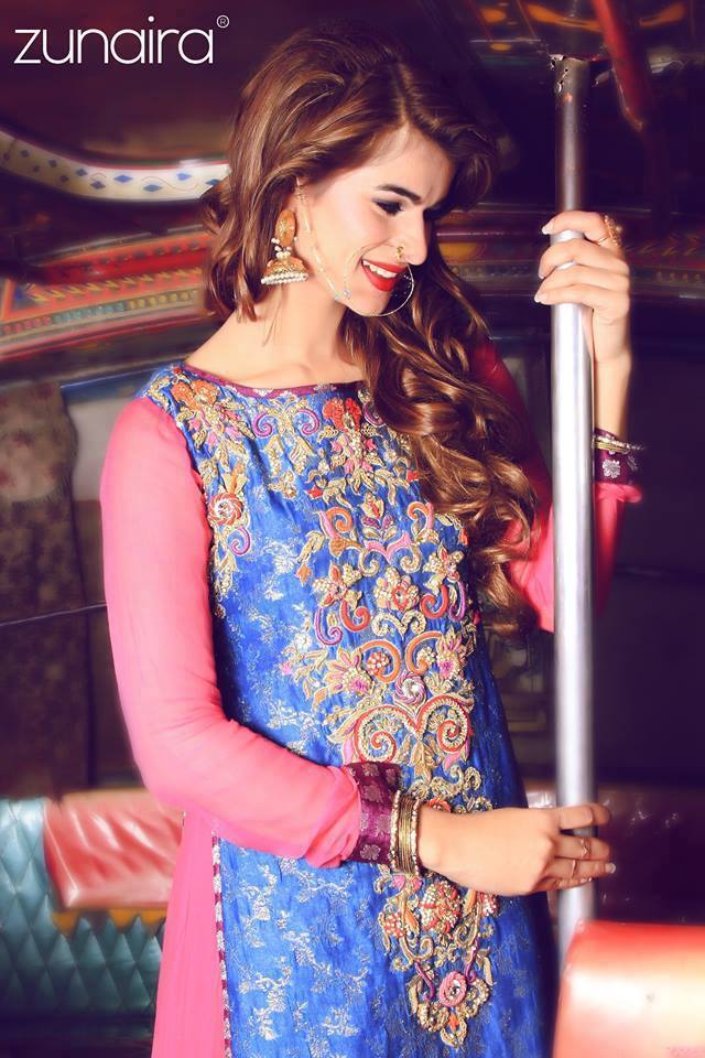 Pakistani Party Wear Fancy Dresses 20182019 Designs