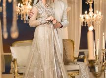Maria B Couture Latest Fancy Formal Wedding Dresses 2018-19 images 3