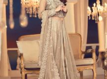 Maria B Couture Latest Fancy Formal Wedding Dresses 2018-19 images 2
