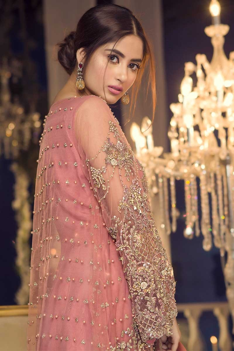 Maria B Couture Latest Fancy Formal Wedding Dresses 20192020