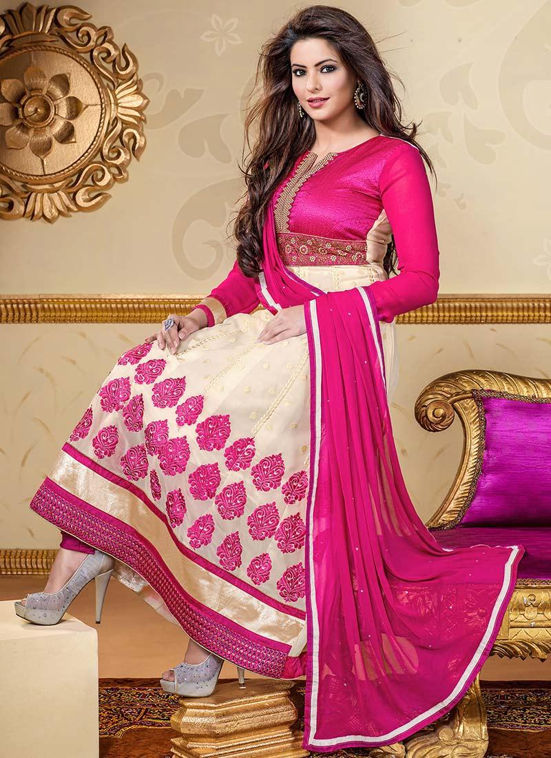 Latest Indian Kalidar Suits Best Salwar Kameez 2014 15