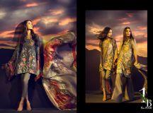 Sana Safinaz Silk Chiffon Dresses Designs Collection 2017-2018 images 1