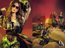 Sana Safinaz Silk Chiffon Dresses Designs Collection 2017-2018 images 4