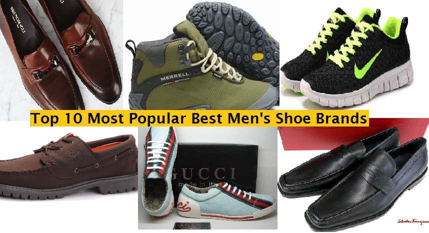 Top 10 Most Popular Best Mens Shoe Brands of all Time  Hit List