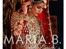 Pakistani Designer Bridal Dresses Maria B Brides 2018-19 Collection images 11