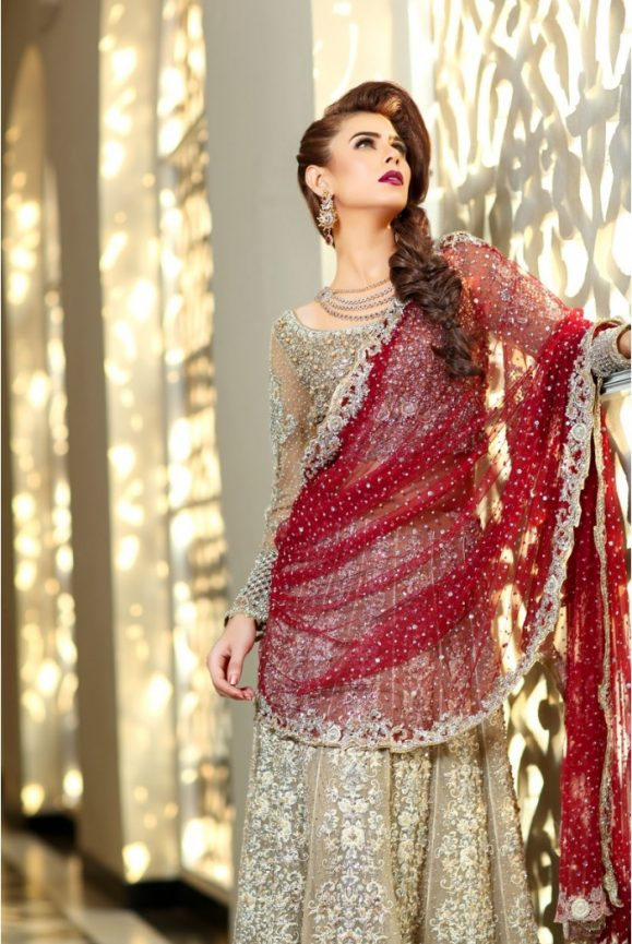Incredible! Pakistani Designer Bridal Dresses Maria B Brides 2018-19 Collection